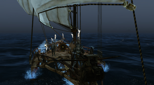 ArcheAge Boats Clipper Harpoon