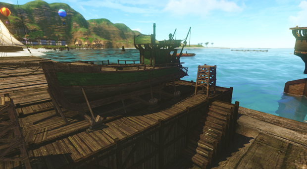 ArcheAge Boats  Fish Ship