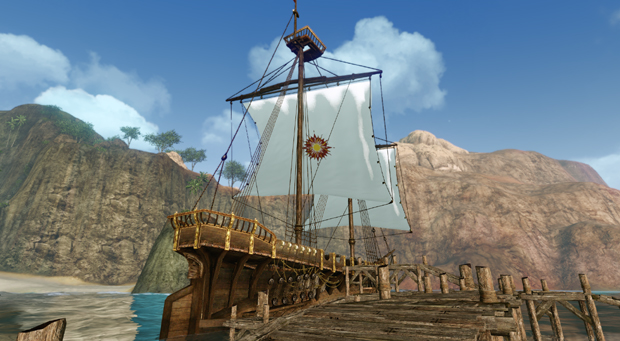 ArcheAge Boats  Galleon West
