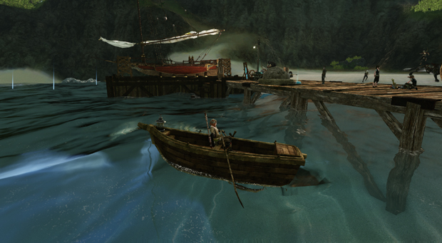 ArcheAge Boats Rowboat
