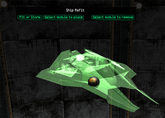 Ascent Space Game Ship Custo