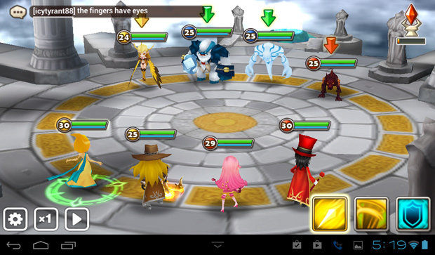 Summoners War arena