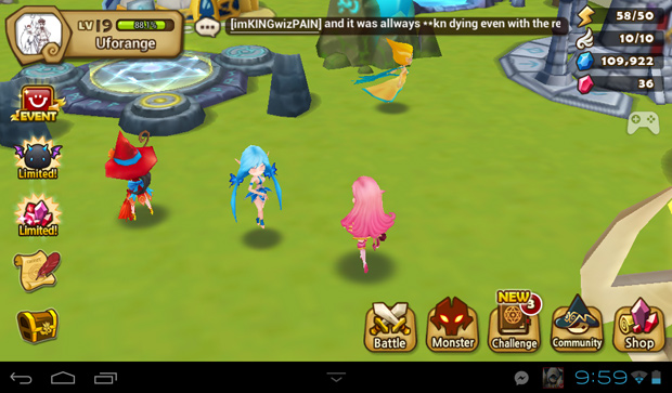 Summoners War field