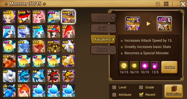 Summoners War info
