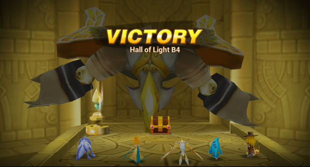 Summoners War victory