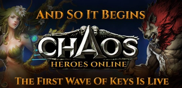 Chaos Heroes Online Beta Wave 1