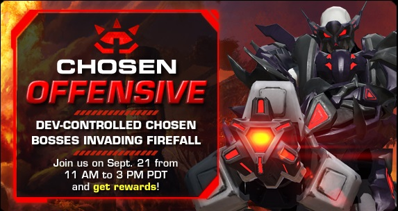 Firefall Chosen Offensive Event