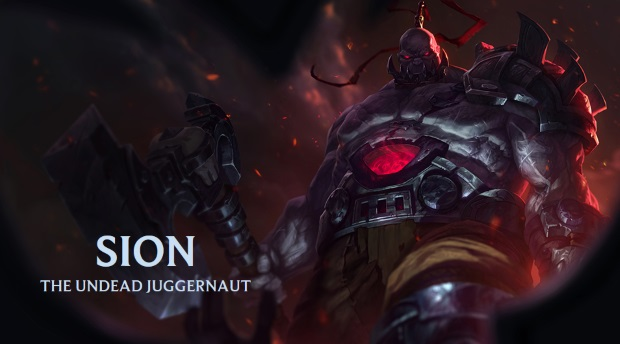 League of Legends Sion Art