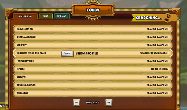 Cannon Brawl Review Lobby