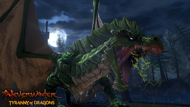 Neverwinter Siege Green Dragon