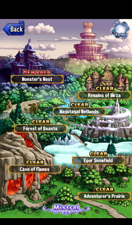 Brave Frontier Review map