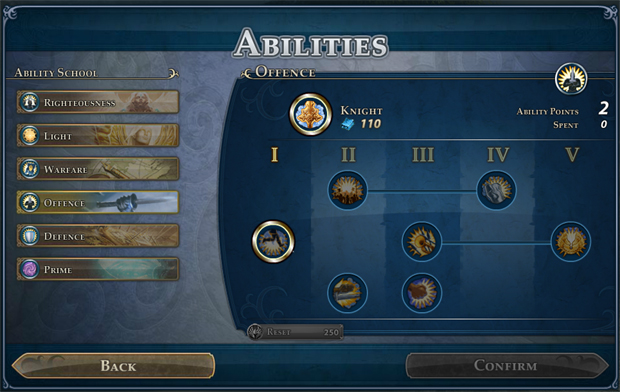Might & Magic Heroes Online Abilities