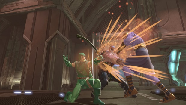 DCUO Legends PvP Green Arrow