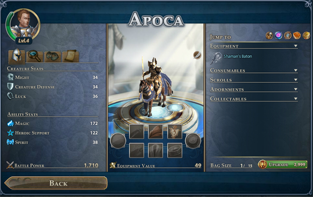 Might & Magic Heroes Online  Hero Page