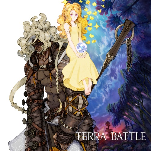 Terra Battle Launch Art