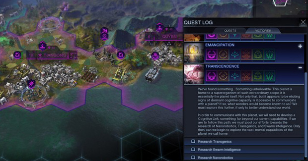 Civ: Beyond Earth Review Victories