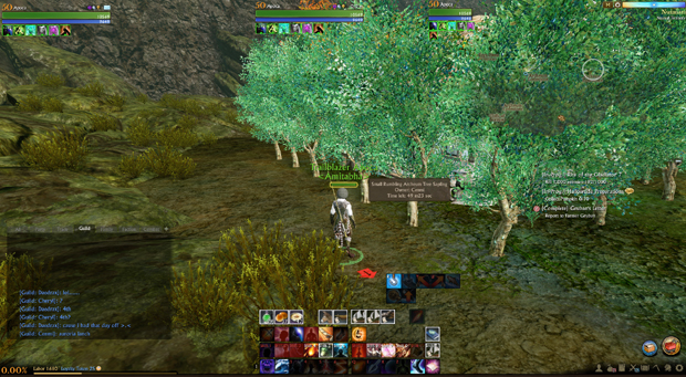 ArcheAge Rumbling Archeum Tree