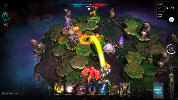 Chaos Reborn Preview Attack