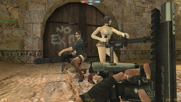 Counter Strike Nexon Female Characters