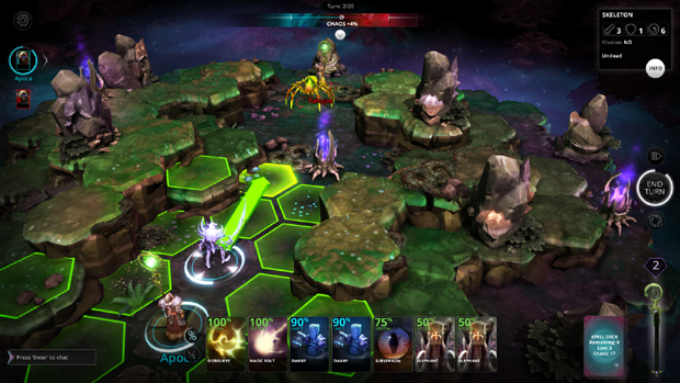 Chaos Reborn Preview Moving