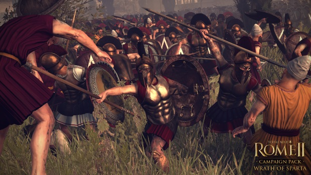Total War Rome II Wrath of Sparta Launch
