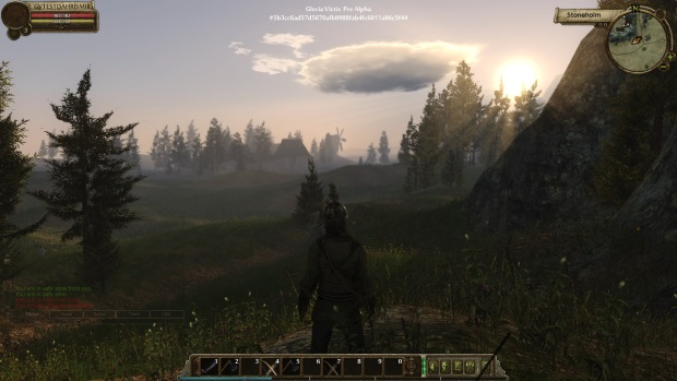 Gloria VIctis Prealpha weather