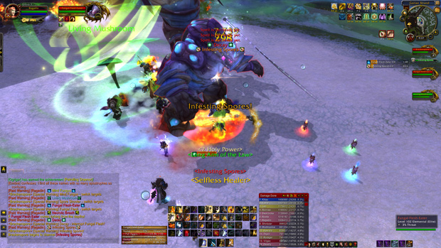 World of Warcraft Highmaul Spores