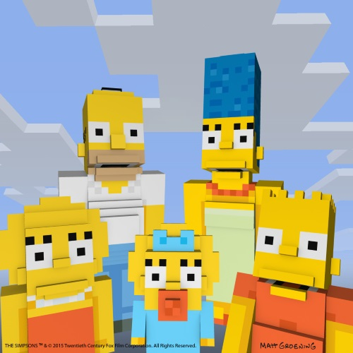 The Simpsons Minecraft