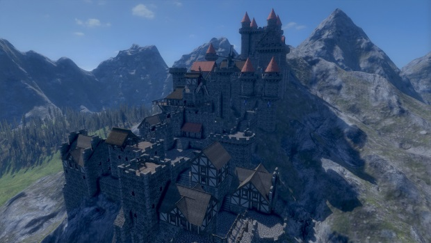 Medieval Engineers Player Castle