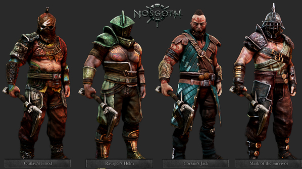 Nosgoth Preview Vanguard Skins