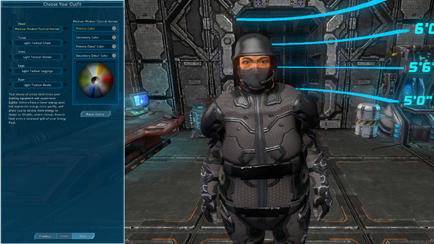 The Repopulation Early Access Character Creation