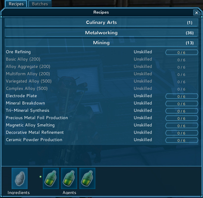 The Repopulation Early Access Crafting