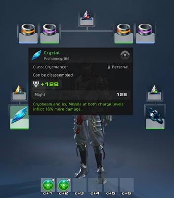 Skyforge Equipment Screenshot