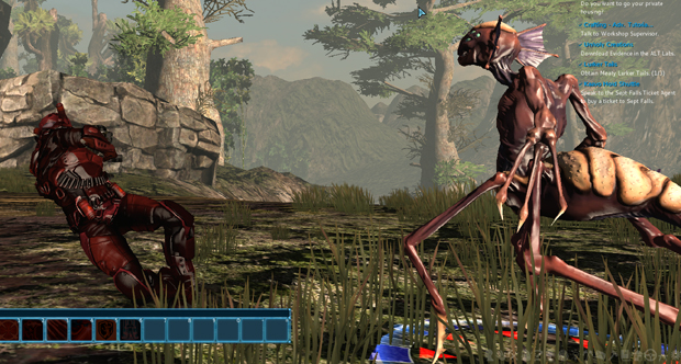 The Repopulation Early Access Knockdown