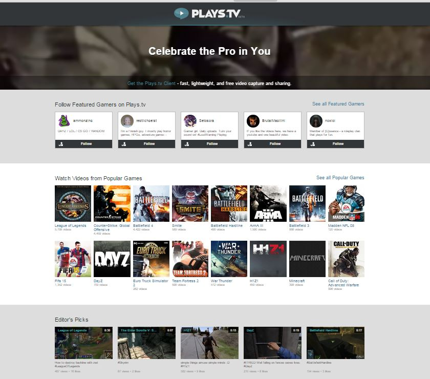 Raptr Launches Plays.tv