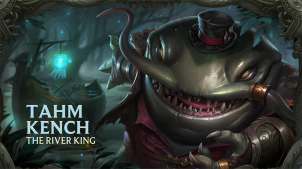 LoL Tahm Kench Kit Reveal