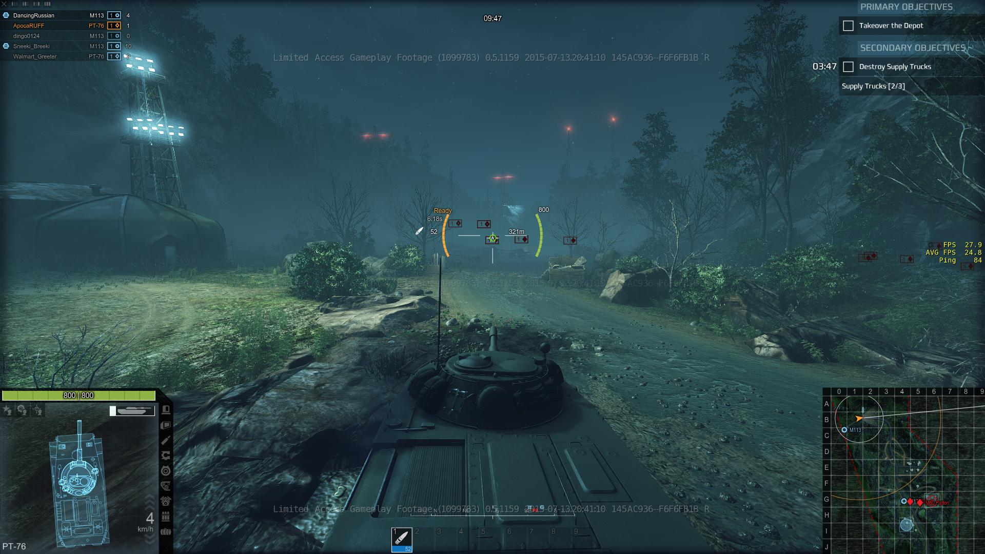 Armored Warfare PvE Dead