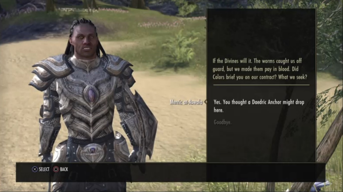 TESO Dialogue