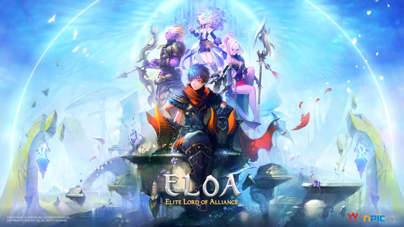 Webzen to Bring ELOA to North America and Europe news header