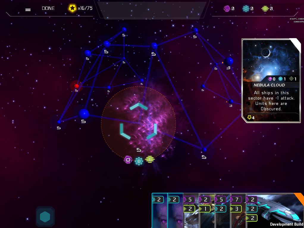 GalaCollider: 4x Strategy Card Game Preview screenshot
