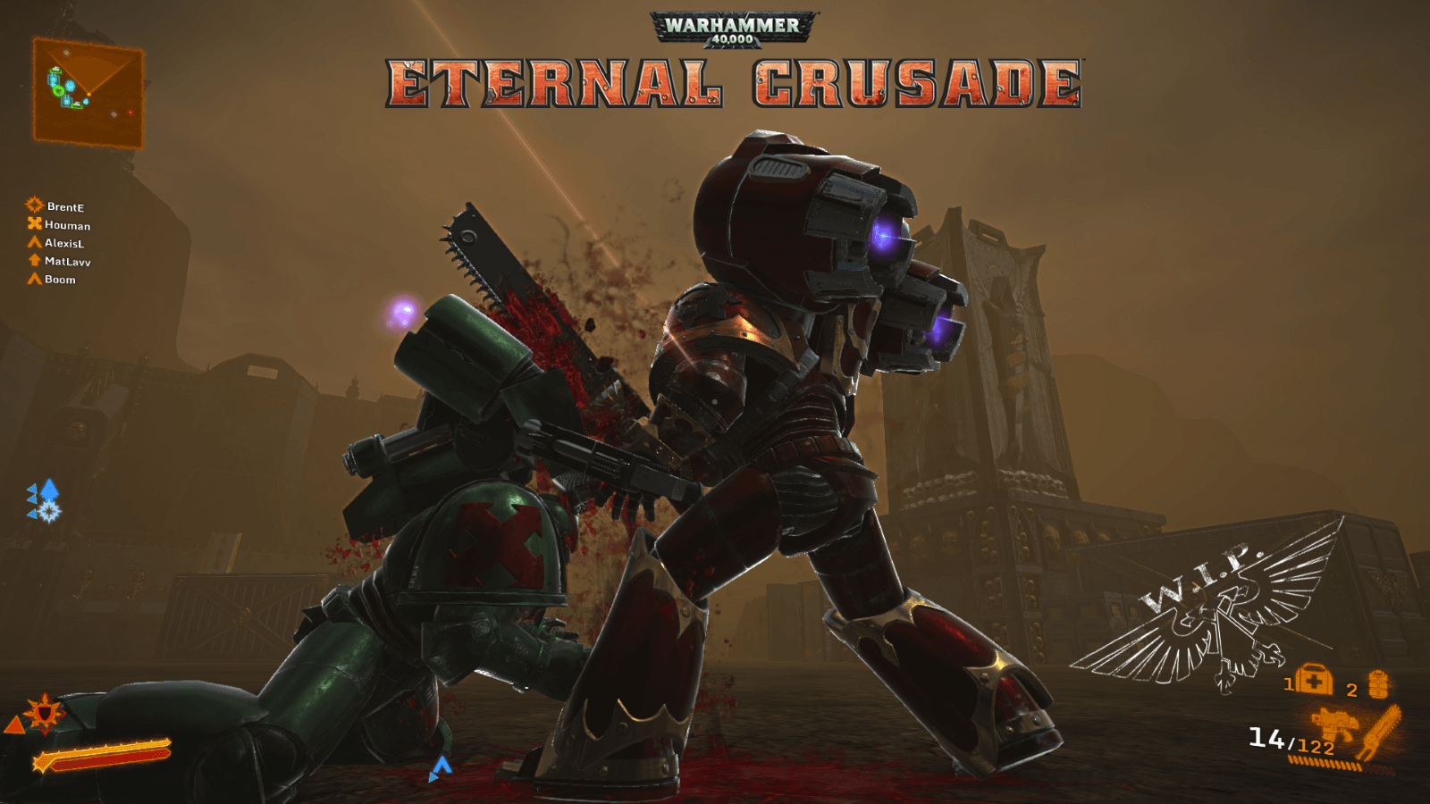 Warhammer 40,000 Eternal Crusade Entering Closed Alpha Testing news header