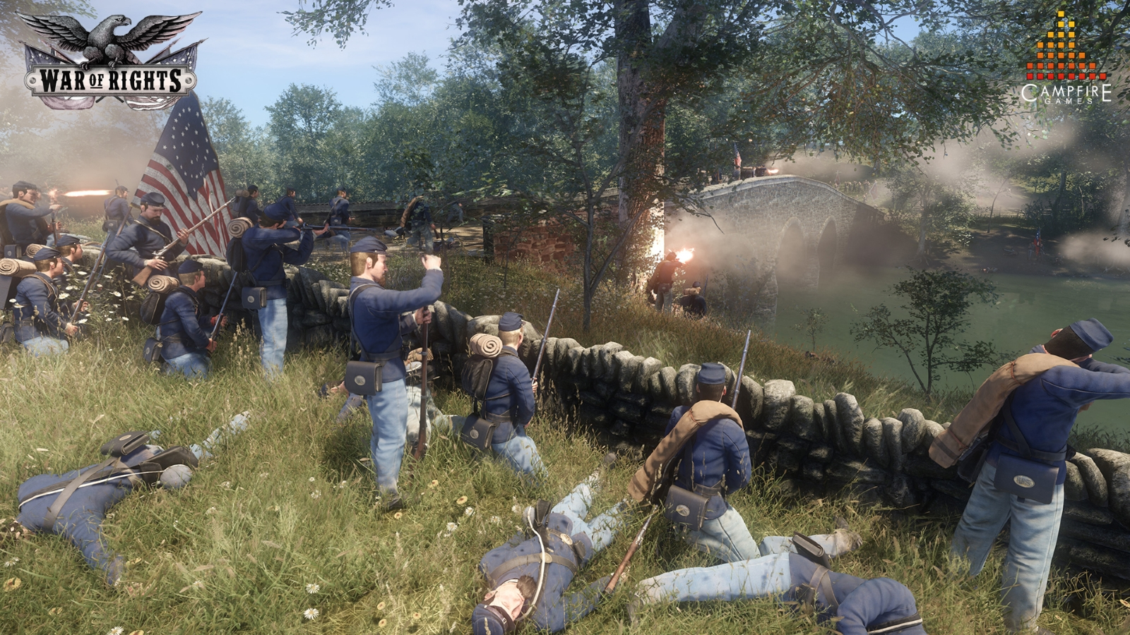 War of Rights Passes 50% Funding and Steam Greenlight news header