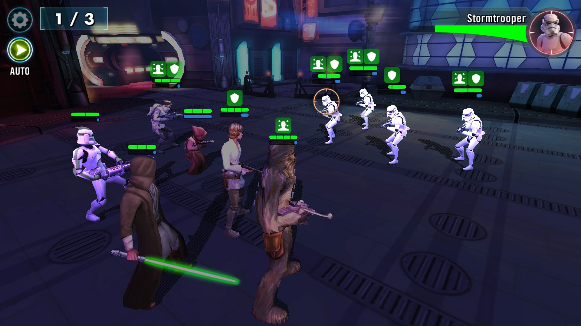 Star Wars Galaxy Of Heroes Review