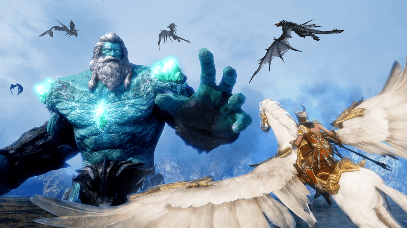 Nexon America Announces Riders of Icarus news header