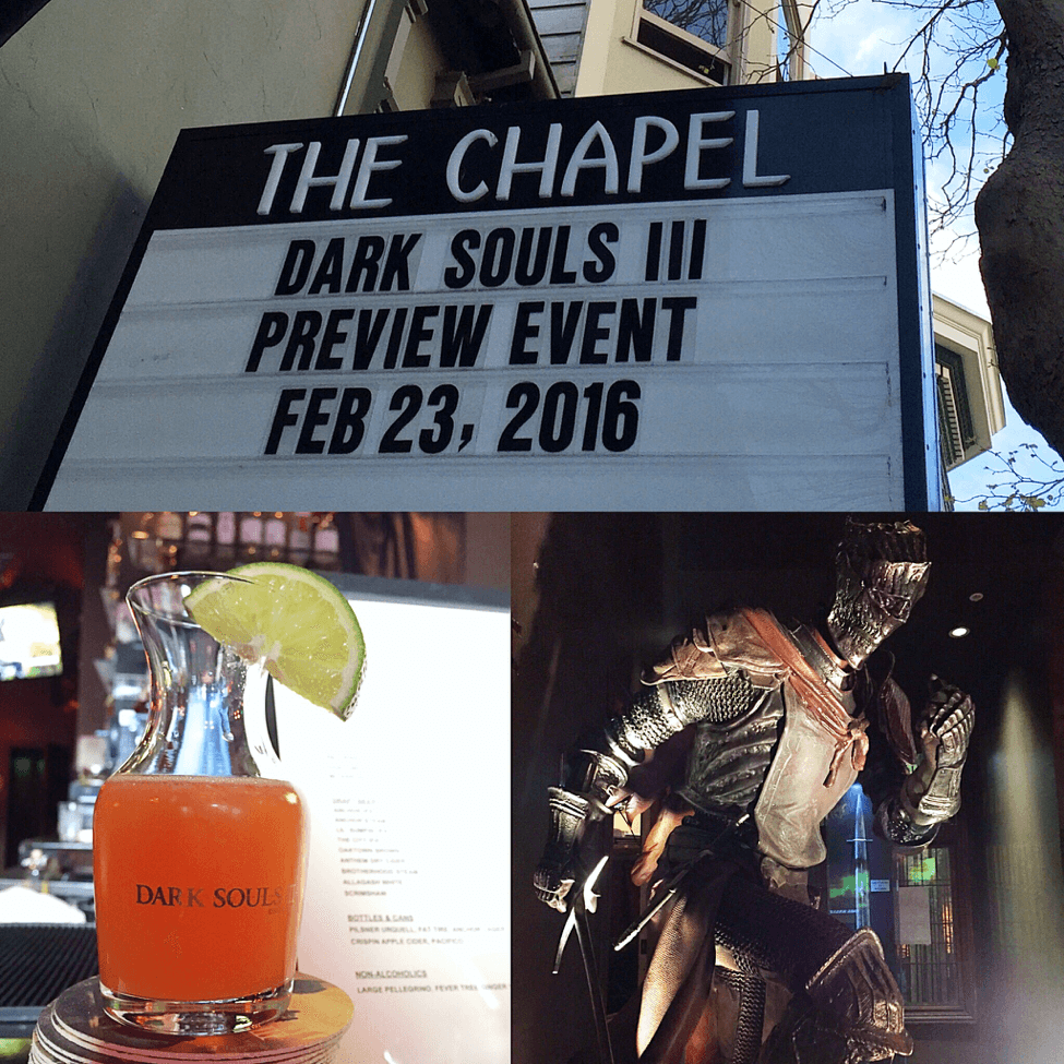 Dark Souls III Press Preview Event 1