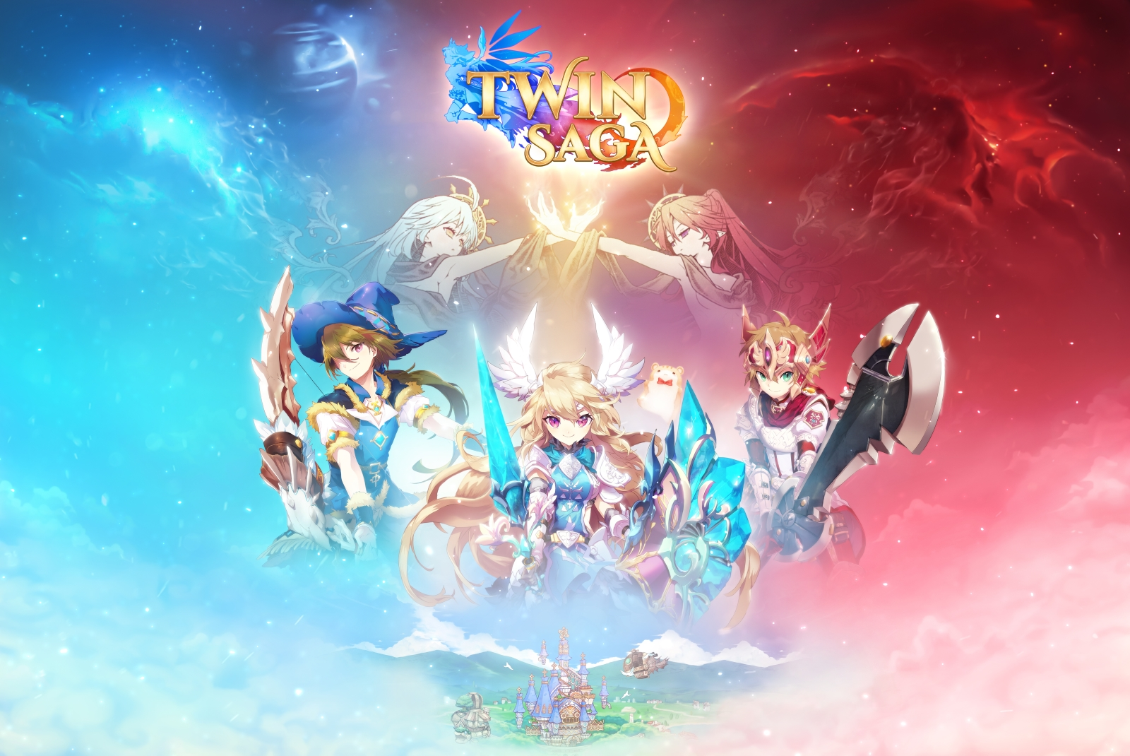 Aeria Games Announces Fantasy Anime MMORPG Twin Saga