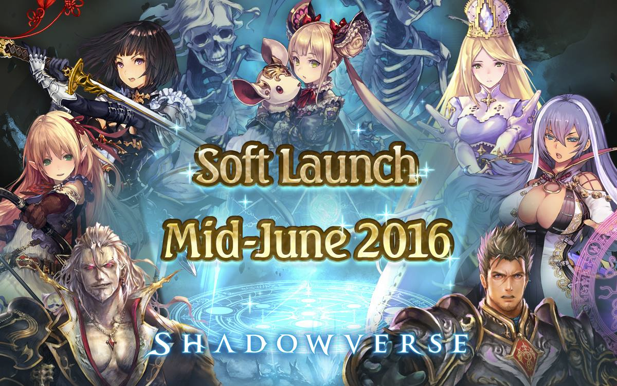 Shadowverse Announces Soft-Launch Plans