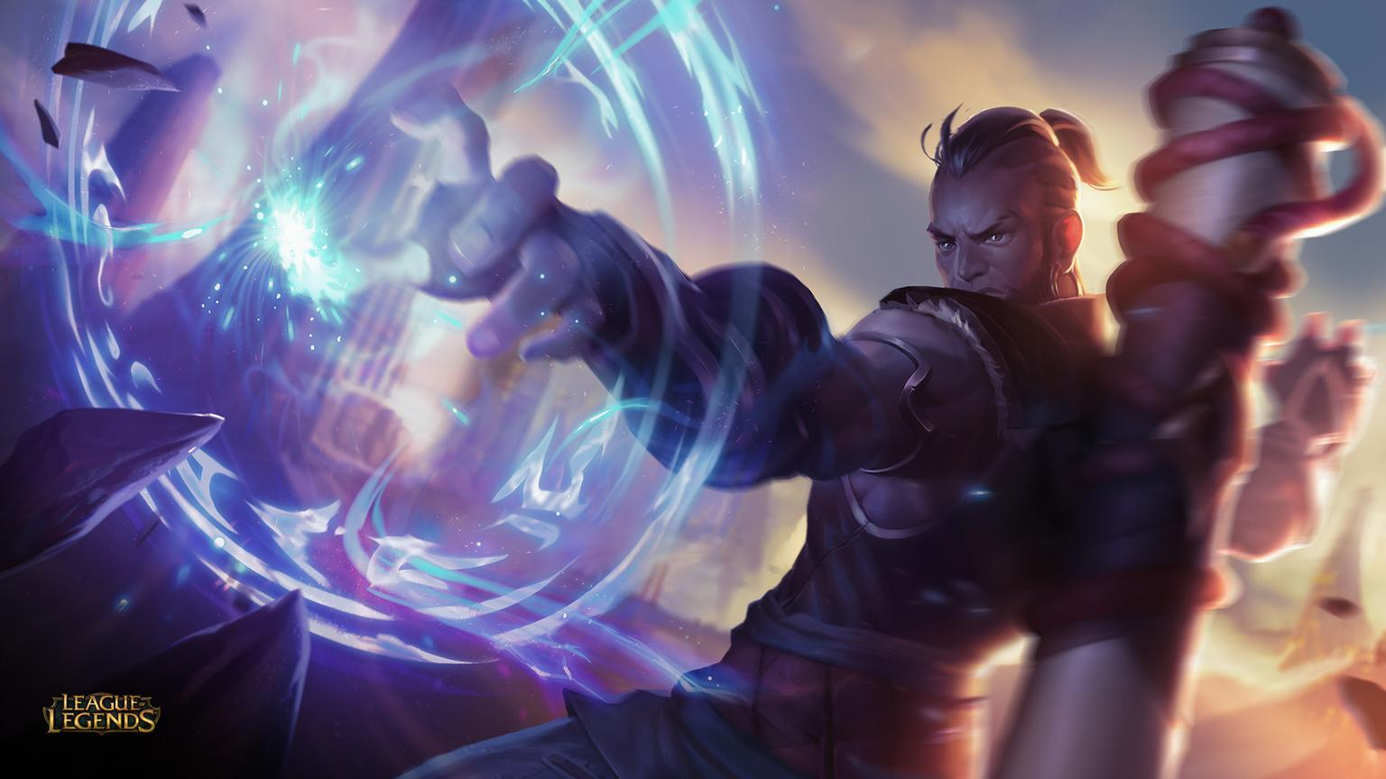 So Ive Been Playing League Of Legends Since Season 2 Thats Not New Old Ground But Today I Saw That A Ryze Rework Visual And Skill Based Is