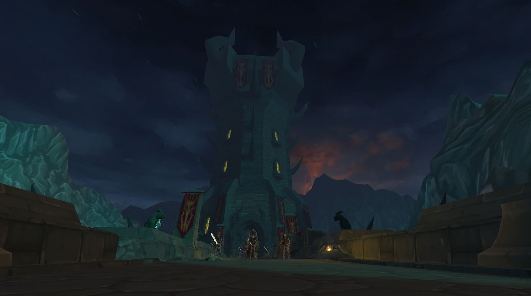 AQ3D ShadowSkull Tower