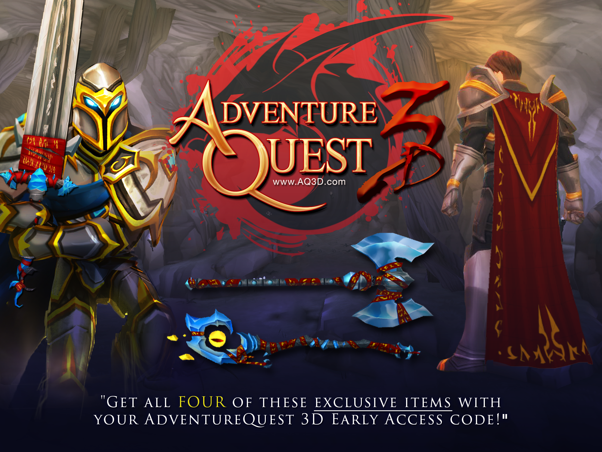 AdventureQuest 3D Warbrand Chest Giveaway